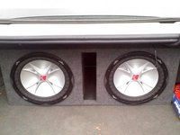 2004 Pontiac Grand Prix GT2, 2, 12'' Kicker Comp CV-R's, interior