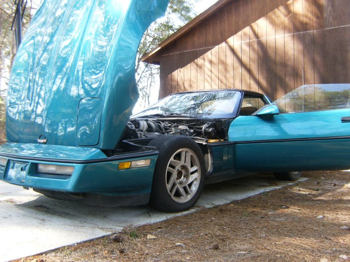 1987 Chevrolet Corvette Base, 1987 Chevrolet Corvette Coupe picture, engine, exterior