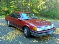1986 Mercury Sable Overview