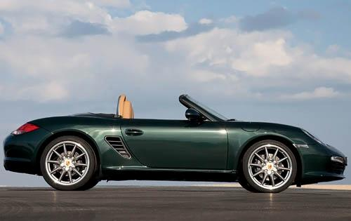 2007 Porsche Boxster, Right Side View, manufacturer, exterior