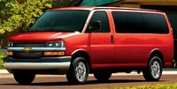 2010 Chevrolet Express Cargo, Front Left Quarter View, exterior, manufacturer, gallery_worthy