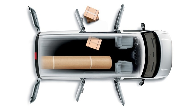 2010 Chevrolet Express Cargo, Overhead View, exterior, interior, manufacturer