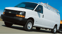 2010 Chevrolet Express Cargo, Front Left Quarter View, manufacturer, exterior