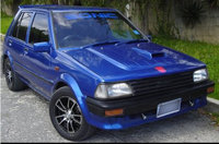 1989 Toyota Starlet, Sonic after a fresh new paint job and some new rims :), exterior