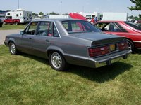1985 Ford LTD, Same show... rear view... faded trim / faded tail light trim & 10 holes., exterior, gallery_worthy