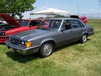 1985 Ford LTD, 2 weeks after I bought it..minor detailing job... drove it to WFC X Indy & brought home a 3rd place  !! It still has the faded trim & 10 holes for this show., exterior, ...