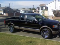 2005 Ford F-150 Lariat SuperCab 4WD, 05 Ford F-150 SuperCab Lariat 4WD, exterior