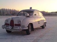 1962 Saab 96, Med isdäcken på, mosbergssjön i Basterud, exterior