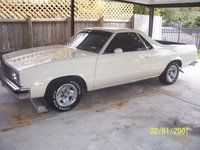 1984 Chevrolet El Camino, This is how she sits in the carport,i  sit outside every chace and wash and wax.Do that early in the morrn. it gets to 90 buy 10am....... If you look real close, exterior, ga...