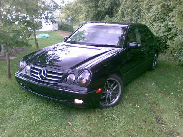 2001 Mercedes-Benz E-Class 4 Dr E320 4MATIC AWD Sedan, 2001 Mercedes