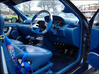 1992 Renault Clio, lashings of leather here, interior