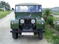 1958 Land Rover Series I, After named Leli restoration work (LRW), exterior