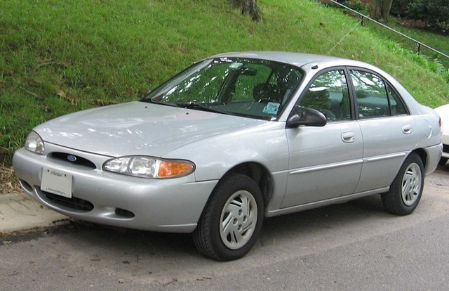 Picture of 2001 Ford Escort 4 Dr STD Sedan, exterior
