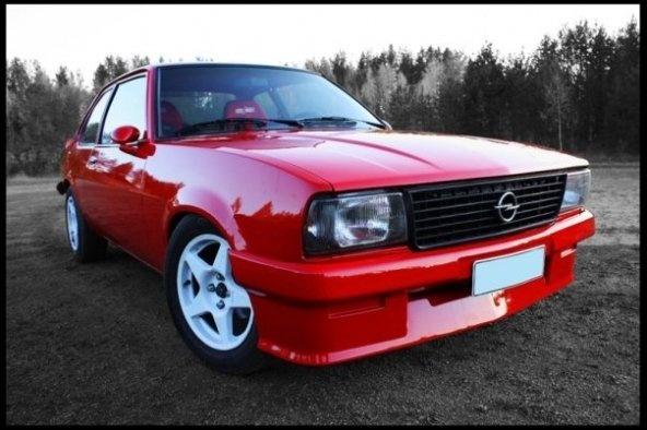 1980 Opel Ascona, ascona b, exterior, gallery_worthy