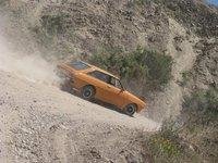 1977 Toyota Corolla SR5, Haciendo rally de subida a la cuesta!, exterior