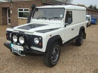 2002 Land Rover Defender, These First photos are from when I bought Her. Nice winch and bumper already fitted., exterior