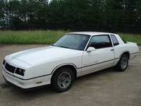 1987 Chevrolet Monte Carlo, 1986 monte carlo ss, exterior