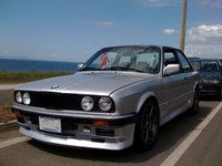 "1985 BMW 3 Series, The ""beast"", exterior"