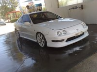 1995 Honda Integra, all cleaned up, exterior
