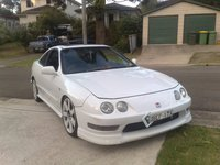 1995 Honda Integra, ohh shit back on the streets, up for sale soon, exterior