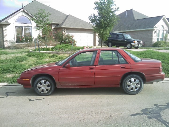 Chevrolet Corsica 1988. 1996 Chevrolet Corsica