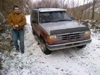 1992 Ford Explorer 4 Dr XLT 4WD SUV, Multimedia message, exterior