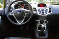 2010 Ford Fiesta, Interior View, interior, manufacturer