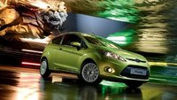2010 Ford Fiesta, Front Right Quarter View, exterior, manufacturer