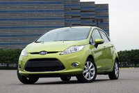 2010 Ford Fiesta, Front Left Quarter View, exterior, manufacturer, gallery_worthy