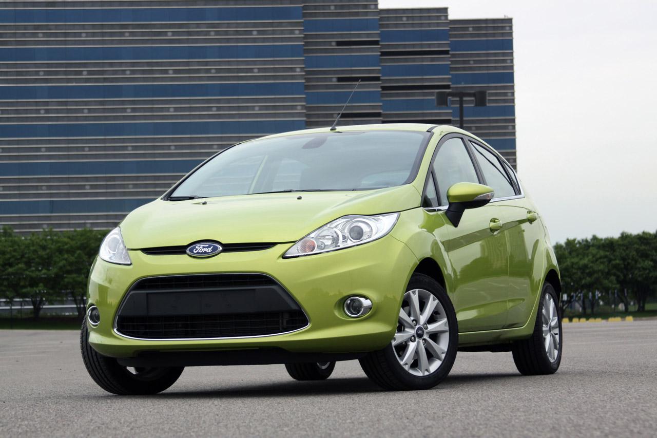 2010 Ford Fiesta, Front Left Quarter View, exterior, manufacturer