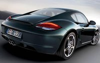 2010 Porsche Cayman, Back Right Quarter View, exterior, manufacturer