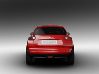 2011 Nissan Juke, Back View, exterior, manufacturer
