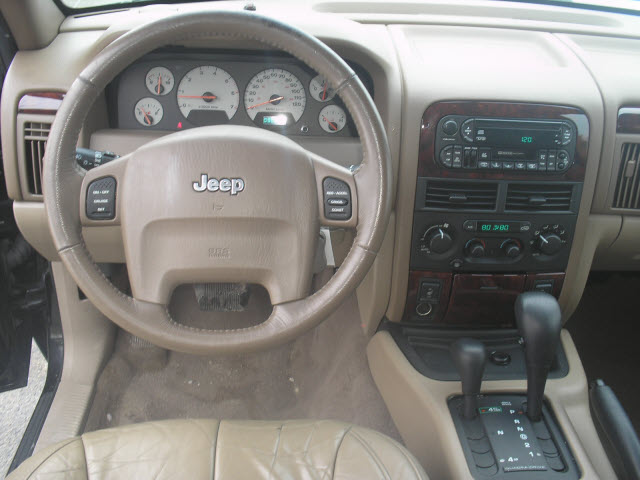 Attractive 1998 Jeep Grand Cherokee Interior: