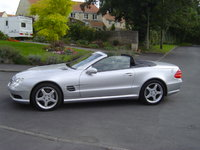 2002 Mercedes-Benz SL-Class 2 Dr SL500 Convertible, 2002 Mercedes-Benz SL500 STD picture, exterior
