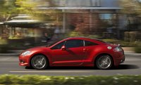 2011 Mitsubishi Eclipse, Left Side View, exterior, manufacturer