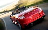 2011 Mitsubishi Eclipse Spyder, Back View, exterior, manufacturer, gallery_worthy