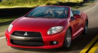 2011 Mitsubishi Eclipse Spyder, Front View, exterior, manufacturer, gallery_worthy