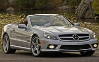 2011 Mercedes-Benz SL-Class, Front Right Quarter View, manufacturer, exterior