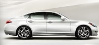 2011 INFINITI M56, Right Side View, exterior, manufacturer