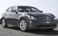 2011 Infiniti M56, Front Right Quarter View, manufacturer, exterior