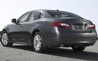 2011 INFINITI M56, Back Right Quarter View, exterior, manufacturer