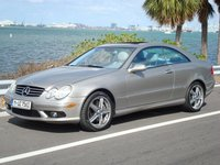 2004 Mercedes-Benz CLK-Class CLK 500 Coupe, Benzo on Lorenzo's, exterior, gallery_worthy