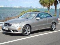 2004 Mercedes-Benz CLK-Class 2 Dr CLK500 Coupe, Benzo on Lorenzo's, exterior