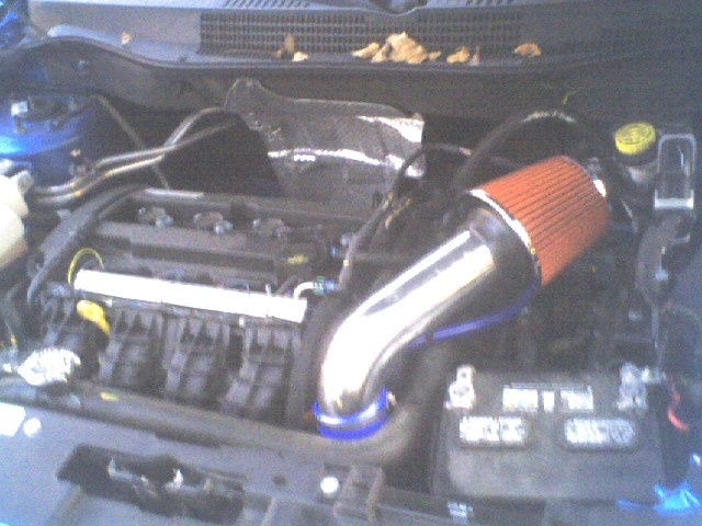 2009 Dodge Caliber SE, Intake mod., engine, gallery_worthy