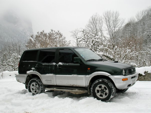 1998 Nissan Terrano II picture, exterior