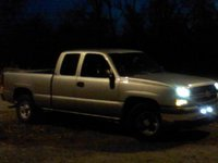 Picture of 2003 Chevrolet Silverado 1500 Work Truck Ext Cab 2WD, exterior