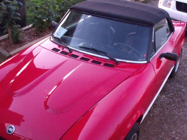 1979 Fiat 124 Spider, William`s 79 Fiat Spider, exterior