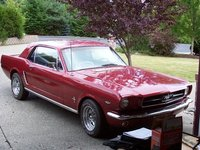 1965 Ford Mustang Coupe with Bench Seats, my baby, 1965 Ford Mustang V8 289 :), exterior