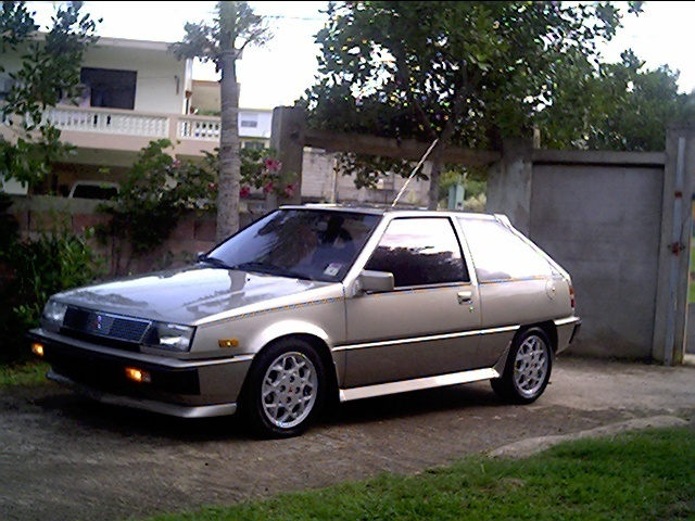 Picture of 1991 Mitsubishi Mirage Base Hatchback, exterior, gallery_worthy