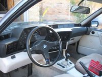 Picture of 1988 BMW 6 Series, interior, gallery_worthy
